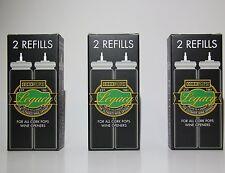 3 X Corkpops Refills Cartridges for CorkPop Wine Opener  - Australia