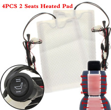 4X Carbon Fiber Universal Heated Seat Heater Kit Car Motorcycle High-Low DC 12V