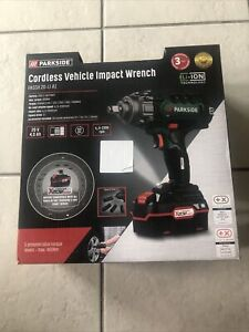 Parkside Cordless Vehicle Impact Wrench PASSK 20-Li A1 Incl BATTERY & CHARGER