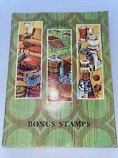 1968 Bonus Stamps Gift Catalog Toys