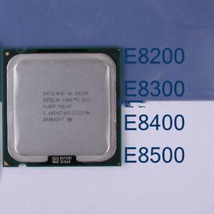 Intel Core 2 Duo E8200 E8300 E8400 E8500 E8600 LGA/775 Processor CPU