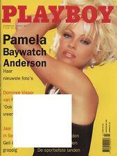 Dutch Playboy Magazine 1995-03 Saskia Machado, Pamela Anderson, Marjorie Pelgrim