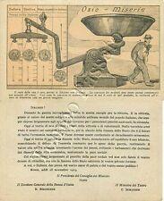 Prestito della pace sociale (Ozio e miseria) - 1919