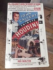 John Calvert performs Tribute To Houdini Vhs Red Skelton Rare item