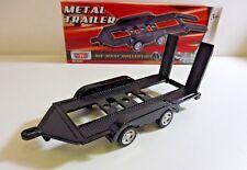 Remorque Plateau en Métal 1/43 MOTOR MAX Produit NEUF Boite d'origine !