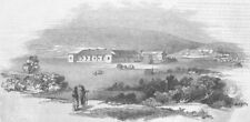 SOUTH AFRICA. Beaufort cottage(Howse's) & Frontier, antique print, 1846