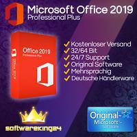 Microsoft Office 2019 Professional Plus 32/64Bit - Expressversand PC-Vollversion