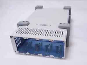 VTI INSTRUMENTS EX7204 FOUR-SLOT HALF-RACK MODULAR MICROWAVE SWITCHING MAINFRAME