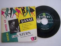 EP 4 TITRES VINYLE 45 TOURS , EMIL STERN , LE PIANO DU PAUVRE . VG  / VG +
