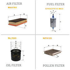 WIX AIR POLLEN OIL & FUEL Filter Service Kit WA6701,WP9125,WL7083,WF8101