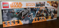 Brand New LEGO Star Wars 66596 Super Pack 2-in-1