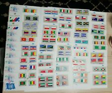 Lot of 52 1980s United Nations Flag Series First Day Covers Fdc