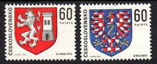 Czechoslovakia - 1975 Coats of arms - Mi. 2252-53 MNH