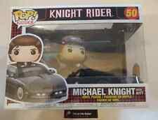 Funko Pop! Rides 50 Knight Rider Michel with Kitt Pop Vinyl Car Television