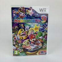 Nintendo Mario Party 9 Nintendo Wii With Case & Manuals PAL Pegi 3 80 Mini Games