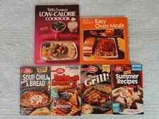 lot 6 vintage Betty Crocker Cookbooks 70s 80s 90s vintage advertising coupons