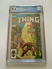 Thing #15 CGC 9.4 / White Pages, 1984 Marvel (1983 First Series)