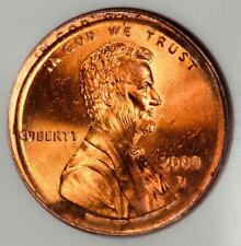 2000 D ANACS MS64 RED Overlapping Double Struck Lincoln Cent Mint Error WOW!