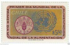 Chile 1981 #1015 Primer dia Mundial de la Alimentacion MNH