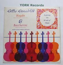 EXP 15 - HAYDN / BOCCHERINI - Cello Concertos WOLF / REUSTLEN - Ex Con LP Record