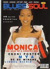 Monica on Blues & Soul Magazine Cover 1998   Mya   Lionel Richie   Be Be Winans