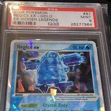 2004 Ex Hidden Legends Regice EX Holo #97 Pokémon PSA 9 MINT