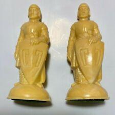 Vintage Replacement Renaissance Pawns ANRI E.S. Lowe Chess Pieces (Cream/White)3