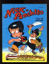 NICK et PANCHITO n°19   LELLBACH / PESCH    EO 1966  Editions Mondiales