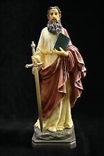 Saint St Paul the Apostle Religious Catholic Statue Sculpture Made in Italy