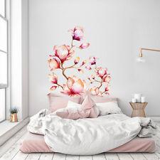 CD0004 Adesivo murale Arredo Casa Wall Art Rami di magnolia 60x120 cm