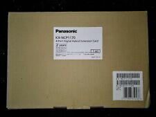 NEW PANASONIC KX-NCP1170 4-PORT DIGITAL HYBRID EXTENSION CARD (DHLC4)