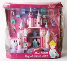 RARE CINDERELLA MAGICAL MUSICAL CASTLE PALACE PLAYSET DISNEY PRINCESS VIVID NEW!