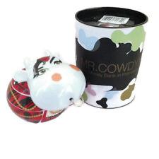 Dartington Crystal - Ceramic Cow Money Bank - Mr. Cowdy