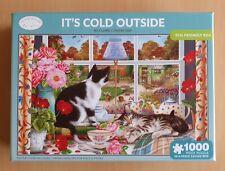 Otter House hace frío fuera de 1000 Rompecabezas Pieza Gatos
