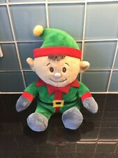 Xmas Elf Soft Toy Exc Cond Child Toy Present Gift Christmas