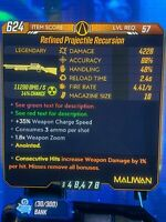 "Borderlands 3 Level 57 ""Recursion"" Radiation/fire Consecutive Hits (Xbox One)"