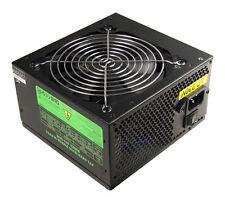 Diseñador de 500W Negro 12cm fuente de alimentación PSU PFC CE SATA Computadora