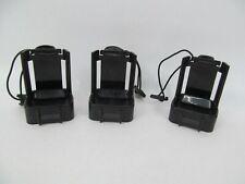 3 Hard Plastic Belt Holsters for Motorola 2-Way Radios