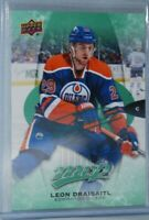 2016-17 Upper Deck MVP Green Script #84 Leon Draisaitl Edmonton Oilers