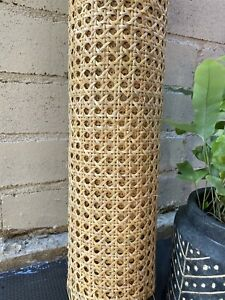 60cm x 50cm Rattan Cane Webbing Panels for Furniture Restoration Up-Cycling