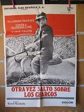 A1313  OTRA VEZ SALTO SOBRE LOS CHARCOS. DIRECTOR KAREL KACHYÑA
