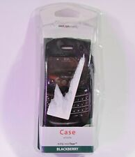 Verizon Blackberry Tour Black Leather Cellphone Case