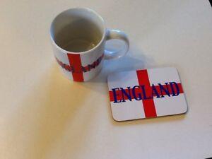 """4"""" England Mug  & Coaster Set"""
