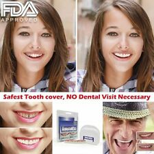 Cosmetic Teeth Snap On Secure Smile Instant Veneers Dental False Natural Cover L
