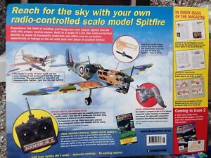 DEAGOSTINI RADIO CONTROLLED SPITFIRE 1:10 BACK ISSUES