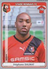 N°388 STEPHANE DALMAT STADE RENNAIS.FC STICKER  PANINI FOOT 2011-2012