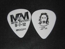 """Anthrax/ Metal Masters Frank Bello """"Metal Masters""""  signature guitar pick"""