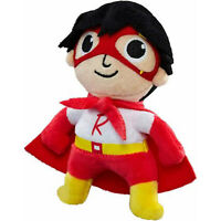 Stuffed Toy Ryan's World Red Titan Ryan Super Hero Plush Toy Doll Toy kids GiftL