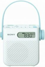 NEW SONY Shower Radio FM / AM / wide FM Drip-Proof ICF-S80 OFFICIAL IMPORT