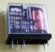 1pcs MK2P-I DC 24 V Bobine 8 Broches Relais de puissance avec PF083A Socket base